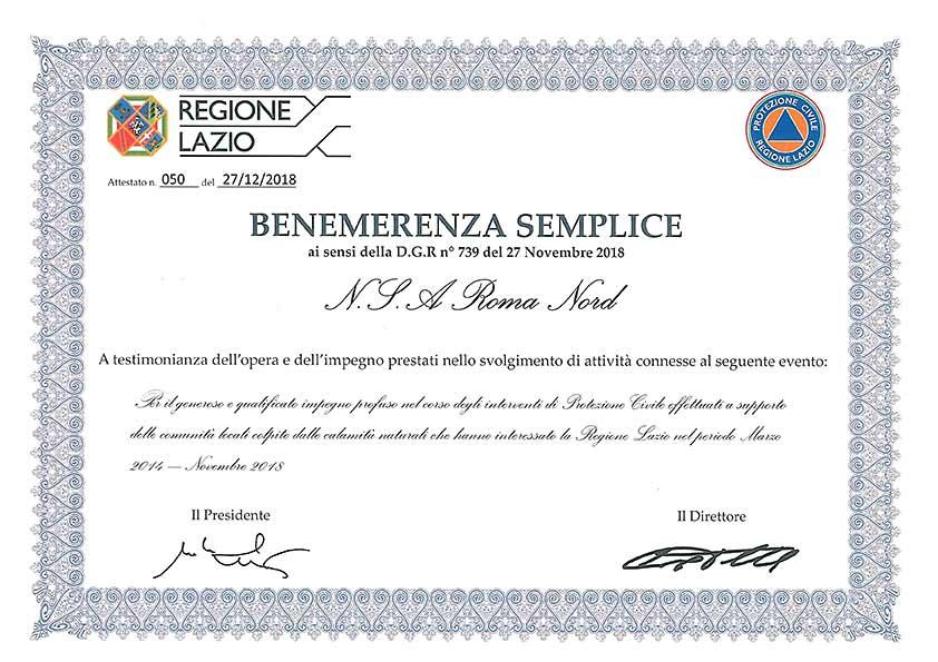 nsa-benemerenze
